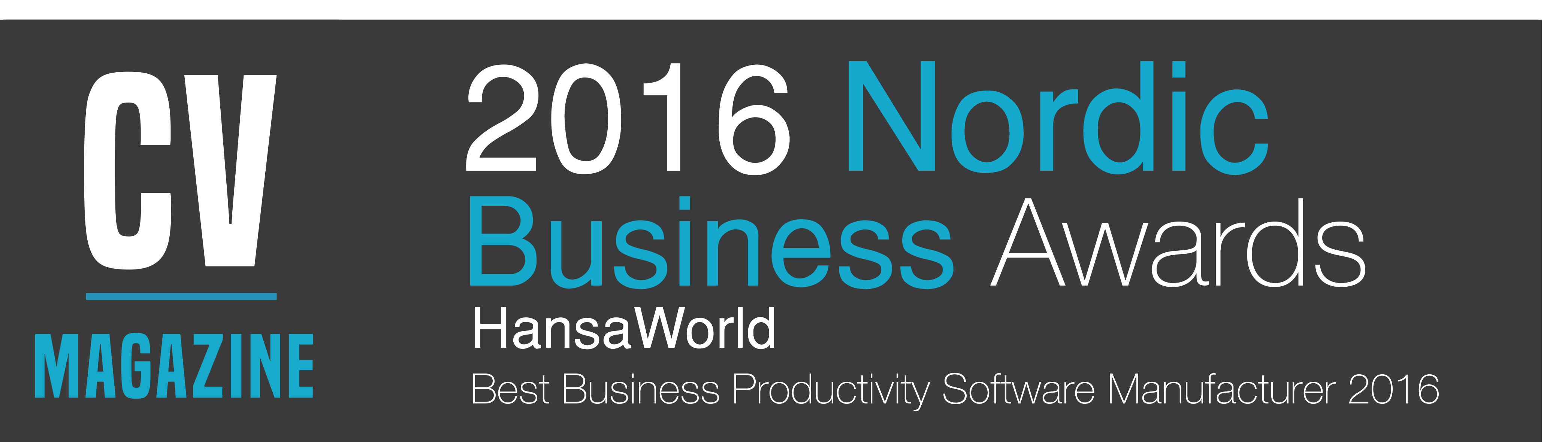 2016 Nordic Business Awards