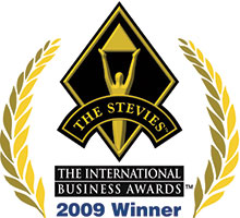 Stevie awards 2009 - Winner