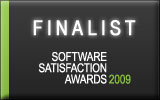 Software Satisfaction awards 2009 - finalist